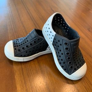 Native shoes c5 toddler Jefferson black and white